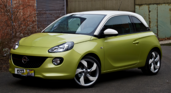 Vauxhall Adam - one of the cheapest cars