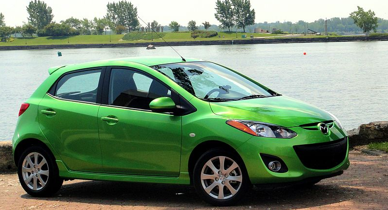 Mazda 2 - is not an expensive car